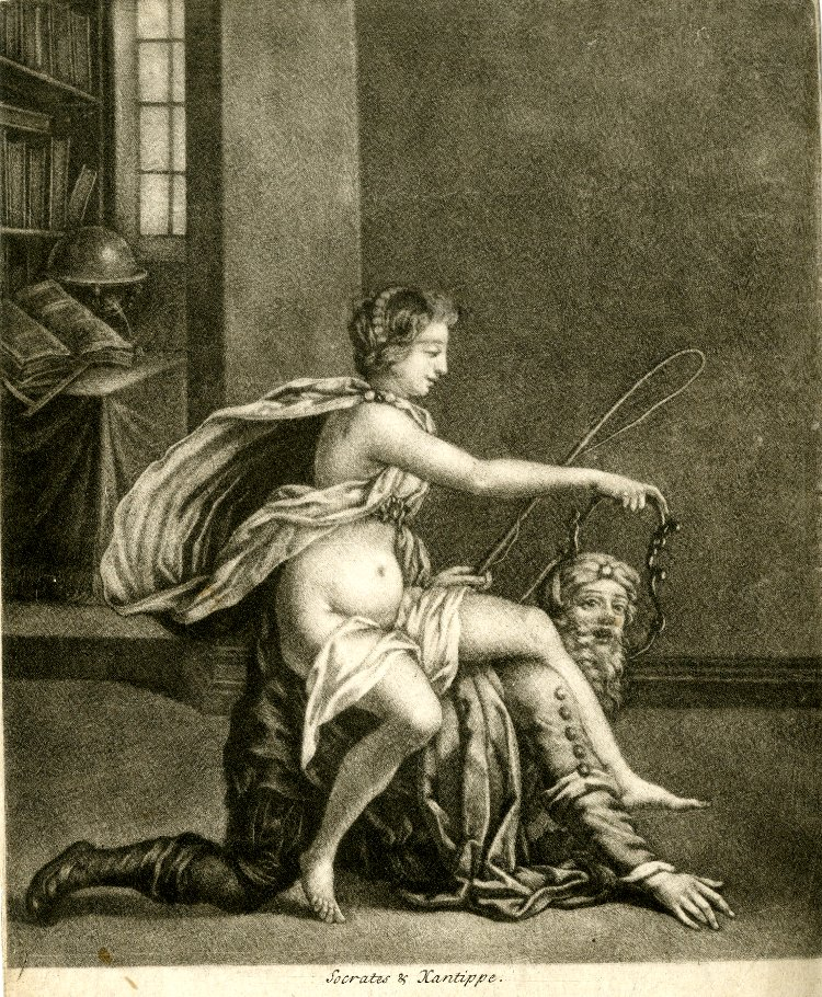 Socrates and Xanthippe